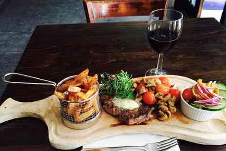 The Command House - Steak Meal with Sides and Wine or Beer for Two  - Save 55%