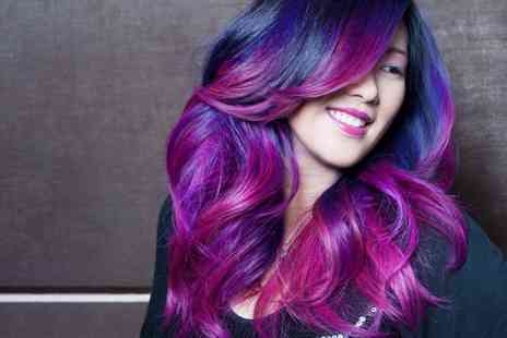 Sensations - Cut and Finish with Half Head Highlights, Full Head Colours, Mermaid Colours or Nail Art  - Save 58%