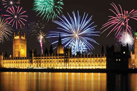 Newmarket Holidays - 3 Day London New Years Party with Thames River Cruise - Save 0%