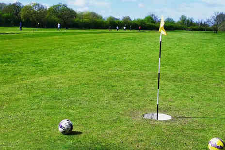 Euxton Park Golf Centre - 12 Holes of Footgolf for Two   - Save 33%