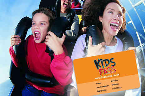 Kids Pass - Family Savings Pass for Cinemas, Theme Parks, Restaurants, and More - Save 68%