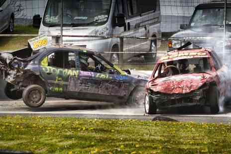 Buxton Race Way - Entry to Stock Car Racing  For Two Adults - Save 54%