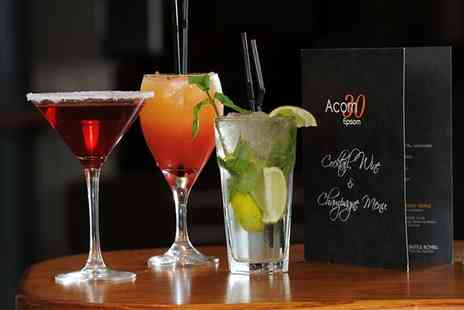 Acorn 30 Urban Bar - Three Cocktails - Save 42%