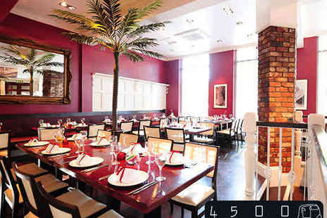 4500 Miles From Dehli  - All You Can Eat Three Course Indian Buffet Lunch for Two  - Save 42%