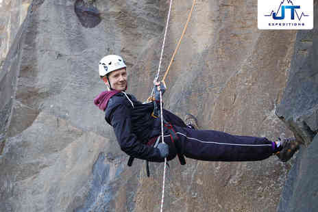 JT Expeditions - Outdoor Abseiling or Rock Climbing Experience - Save 0%