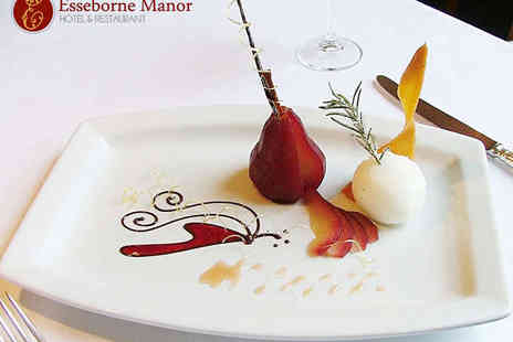 Esseborne Manor - Seven Course Tasting Menu for Two - Save 0%