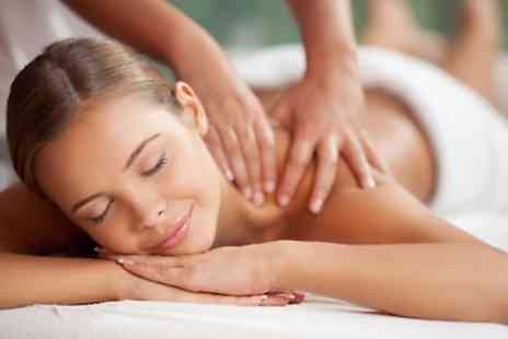 Julie And Kris @ Beauty Beehive - Aromatherapy or Swedish Massage with Face and Scalp Massage Option - Save 60%