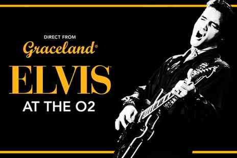 The O2 -  One Ticket  for Elvis Exhibition  - Save 40%