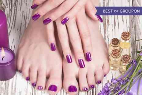 Depilex Health and Beauty - Manicure or Pedicure  - Save 41%