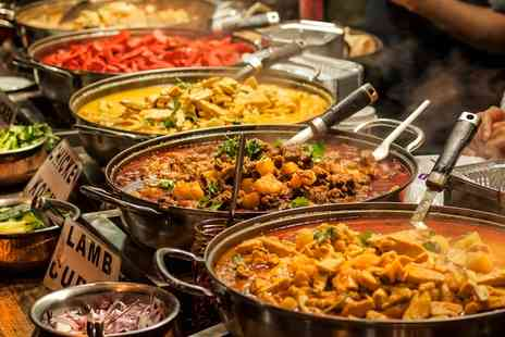 Ashoka Shak  - All You Can Eat Indian Buffet For Two  - Save 0%