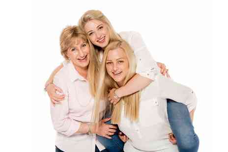Memories Portrait Photographers - Family Photoshoot With Prints and Key Chains - Save 89%
