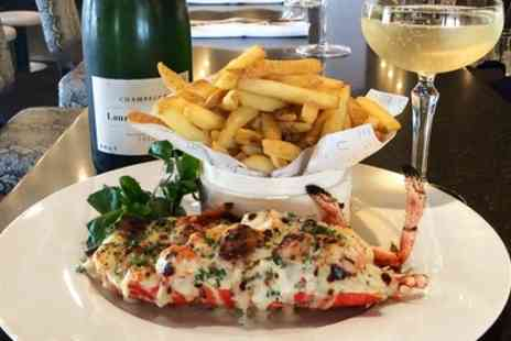 Bourgee - Lobster or Fillet Steak with a Glass of Champagne for One  - Save 0%