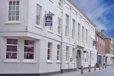 The George Hotel - One or Two Night Break in Historic Lichfield with Tickets to Twycross Zoo - Save 37%