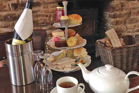 The Black Horse - Cotswolds Afternoon Tea with Prosecco for Two - Save 40%