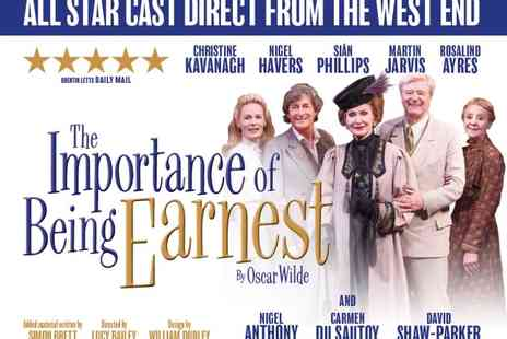 ATG Tickets - Tickets to The Importance of Being Earnest  - Save 55%