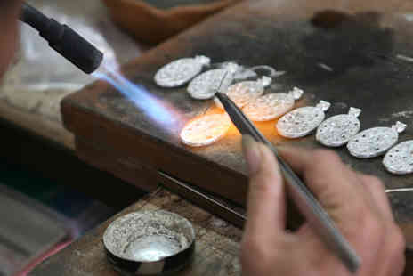 24ct  - Precious Metal Clay Jewellery Workshop for One  - Save 53%