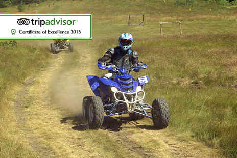 Off Limits -   45 minute quad biking session for two   - Save 55%