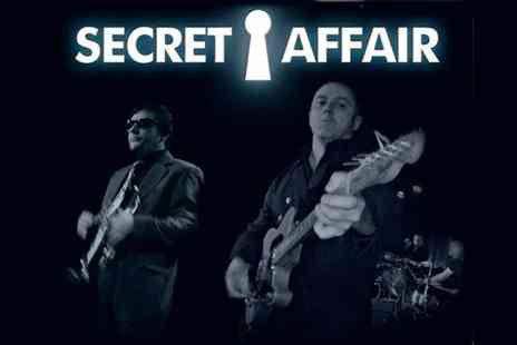 AGMP - One ticket to Secret Affair live on 2, 31 October  - Save 36%