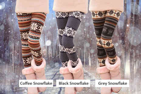Beauty Fit - Winter Nordic Leggings - Save 65%