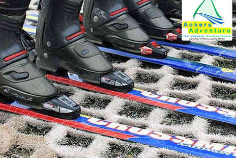 Ackers Adventure - Three Hours of Recreational Dry Ski Slope Use or Adult Ski Lesson - Save 0%