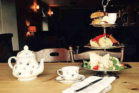 The Northumberland Arms - Afternoon Tea with Glass of Prosecco Each for Two  - Save 0%