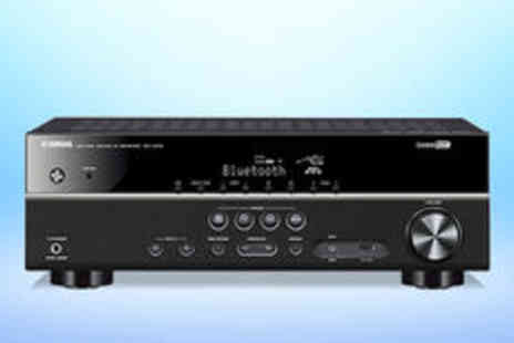 PRC Hi Fi & Video  - YAMAHA RXV379 AV receiver in silver or black Free Delivery  - Save 0%