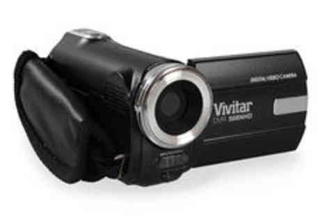 Sonic  - Vivitar DVR508NHD 8.1MP digital video recorder with screen Plus Delivery  - Save 0%