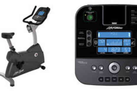 PRC Hi Fi & Video - Life Fitness C1 upright cycle with track plus console  - Save 0%