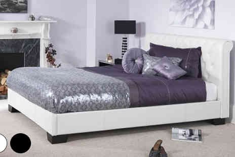 Mattress Shed - Chesterfield Scroll Bed - Save 51%