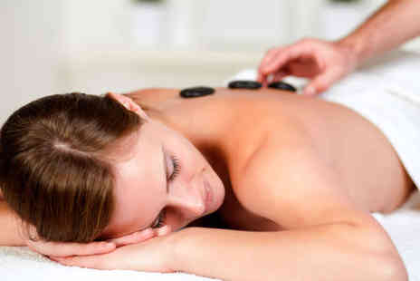 Sugar Rush Beauty - Hot Stone Back, Neck and Shoulder Massage with Indian Head Massage and Mini Facial - Save 52%
