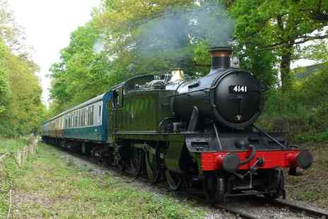 Epping Ongar Railway - Ticket for three heritage transport experiences on the Epping Ongar Railway for Two  - Save 50%