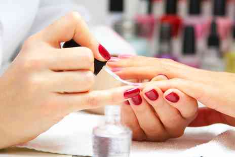 Inches Beauty Salon - Shellac or Gelish Nails on Hands or Feet, or Both - Save 0%