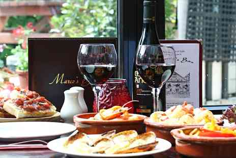 Marcos Bar - £40 or £80 Worth of Spanish Food for Two - Save 0%