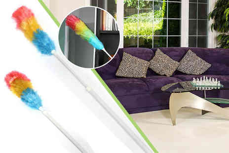 Excess Retail - Extendable feather duster - Save 72%