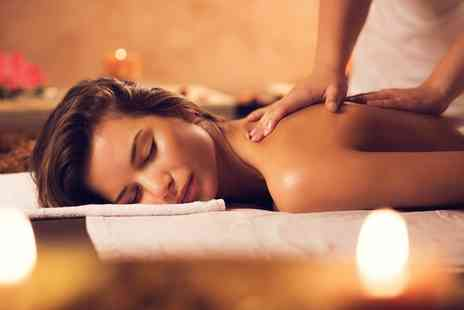 Scissorz Hair & Beauty  - Choice of Massage With Facial - Save 44%