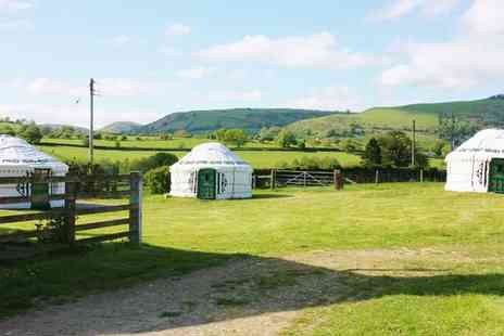Barnutopia - Two night midweek yurt stay for up to four   - Save 0%