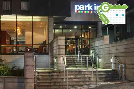 Park Inn by Radisson - One night Stay For Two With Breakfast With Option For 2 Course Meal and Wine - Save 0%