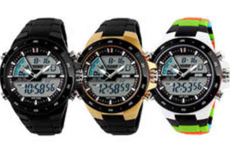 Fakurma - 4 in 1 stylish sports watch in range of colours plus delivery - Save 0%
