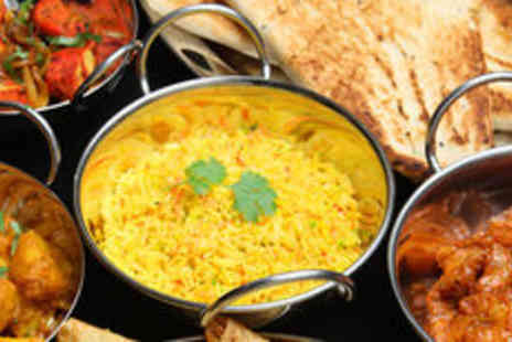 Heera - Indian buffet meal with wine for one - Save 0%