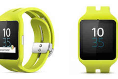 You Want Audio - Sony SmartWatch 3 SWR50 sports watch for Android in lime green - Save 0%