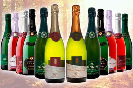 Global Deals - Twelve Mixed Bottles of Cava - Save 68%