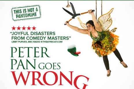 Apollo Theatre - Ticket to Peter Pan Goes Wrong - Save 0%