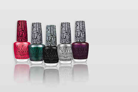 My Perfume Room - Five piece OPI shatter nail varnish set - Save 87%