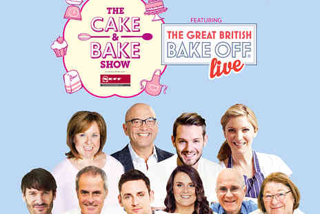 The Cake and Bake Show - Two Tickets to The Cake and Bake Show - Save 50%