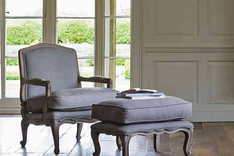 Alison At Home  - The French Rochelle Armchair & Footstool - Save 33%