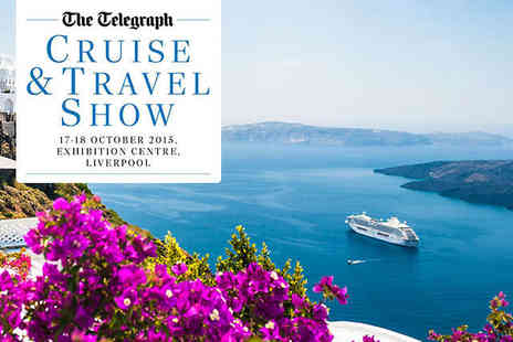 The Telegraph Cruise Show  - Tickets To The Telegraph Cruise & Travel Show on October 17 or 18 with Wine Tasting (£10) - Save 0%