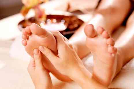 The Reflexology Space - One 75 Minute Sessions of Foot Reflexology - Save 42%