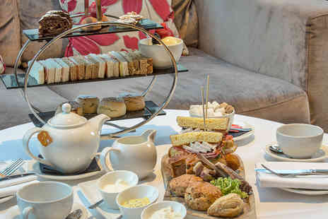 Kensington Close Hotel - Traditional Afternoon Tea with a Glass of Champagne for Two  - Save 50%