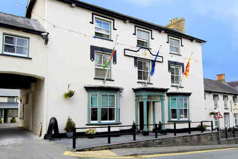 Gwesty'r Emlyn Hotel - One, Two, or Three Night Stay for Two with Breakfast - Save 58%
