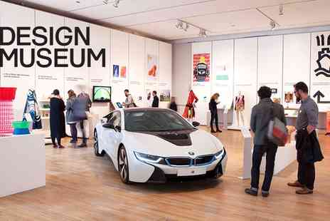 Design Museum - Adult Entry to the Design Museum on October 1 to  16 November   - Save 41%